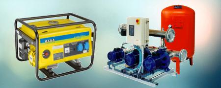 Jeneratör - Hidrofor Sistemleri